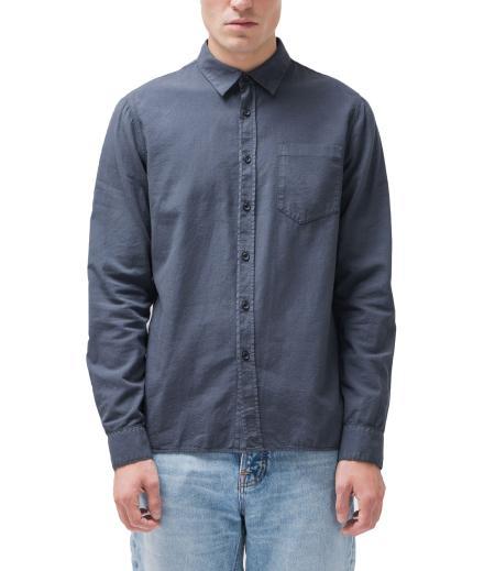 Nudie Jeans Henry Batiste Garment Dye smokey blue | L