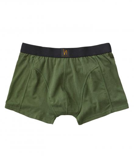 Nudie Jeans Boxer Briefs Solid green | M