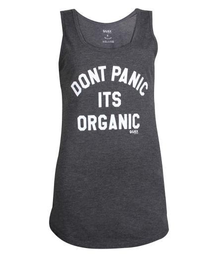 Yoga Tank Dont Panic its Organic