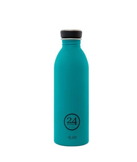 24Bottles Trinkflasche 0,5 Liter atlantic