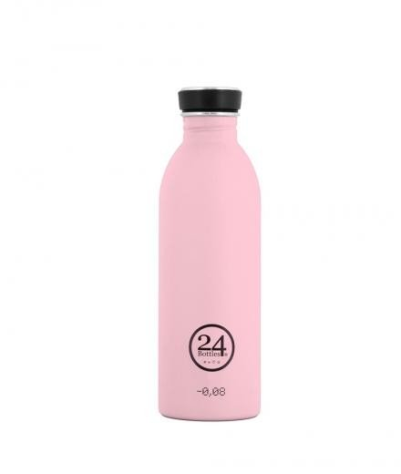 24Bottles Trinkflasche Pastel  Candy Pink | 0,5l