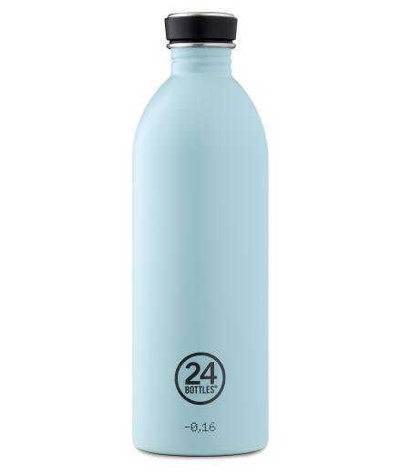 24Bottles Trinkflasche 1,0 Liter cloud blue