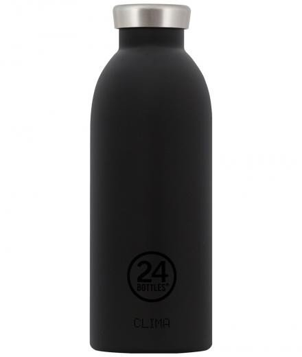 24Bottles Clima Thermosflasche Stahl 0,5l tuxedo black