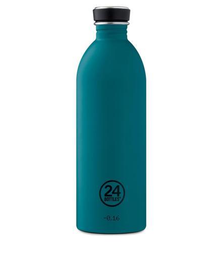 24Bottles Trinkflasche 1,0 Liter stone atlantic bay