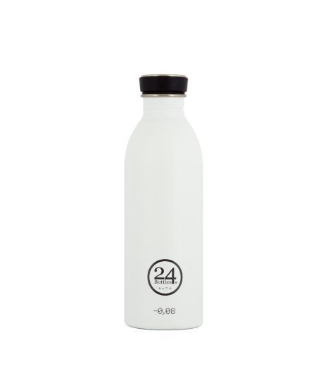24Bottles Trinkflasche 0,5 Liter ice white