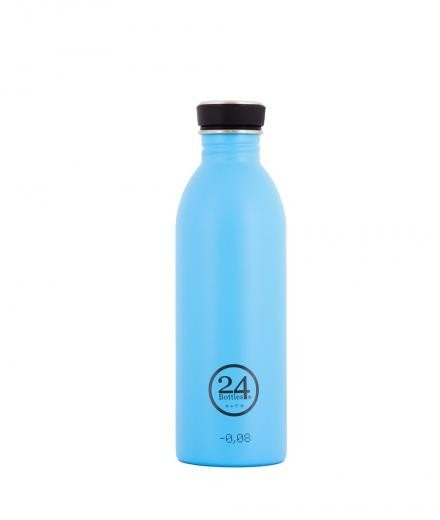 24Bottles Trinkflasche 0,5 Liter lagoon blue