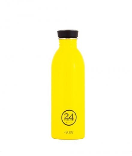 24Bottles Trinkflasche 0,5 Liter taxi yellow