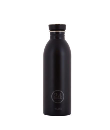 24Bottles Trinkflasche 0,5 Liter tuxedo black