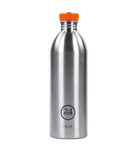 24Bottles Trinkflasche 1,0 Liter steel