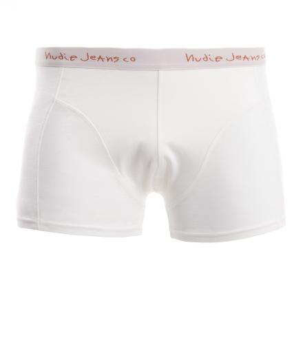 Nudie Jeans Boxer White