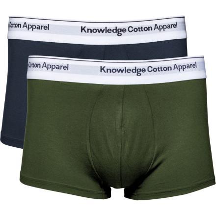 Knowledge Cotton Apparel 2 pack underwear - season