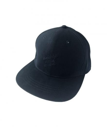 Knowledge Cotton Apparel Cap with embrodery