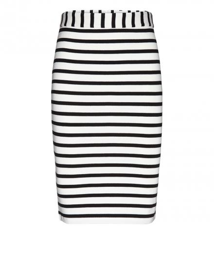 ARMEDANGELS Agata Stripes off white-black | M