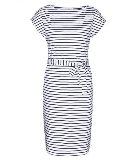 ARMEDANGELS Alada Stripes white-dark cobalt | M