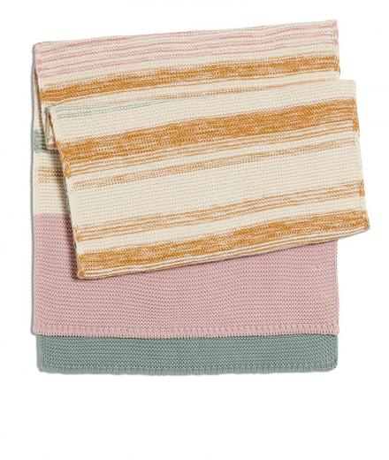 ARMEDANGELS Isaalie Stripes sandshell-pale mauve