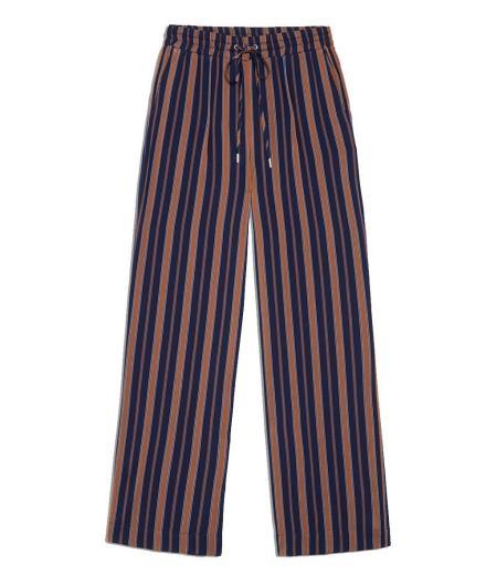 ARMEDANGELS Viviaan Multicol Stripes evening blue-maroon
