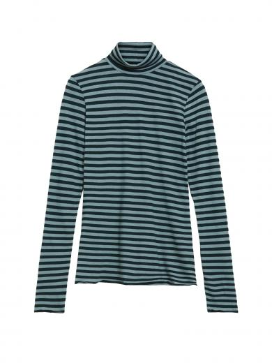 ARMEDANGELS Malenaa Stripes deep lake-soft moss