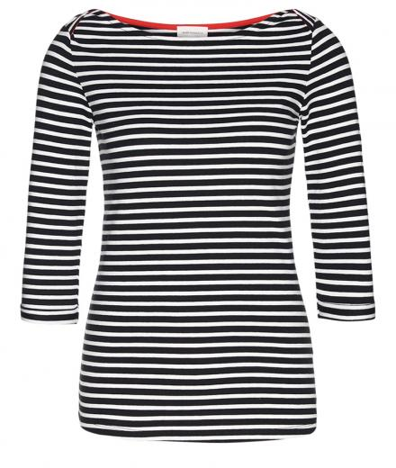 ARMEDANGELS Dalenaa Stripes black | M