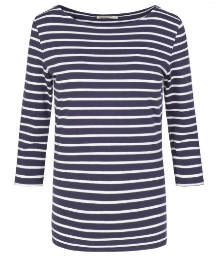 ARMEDANGELS Darja Stripes navy-off white | S