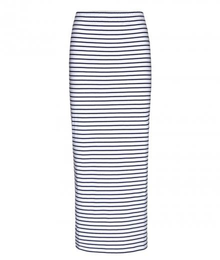 ARMEDANGELS Elina Stripes white-dark cobalt | S