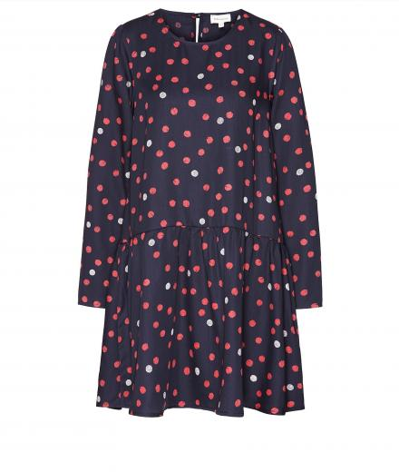 ARMEDANGELS Enda Bubble Dots navy-ribbon red | S