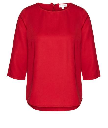 ARMEDANGELS Hedda Bow scarlet red | S