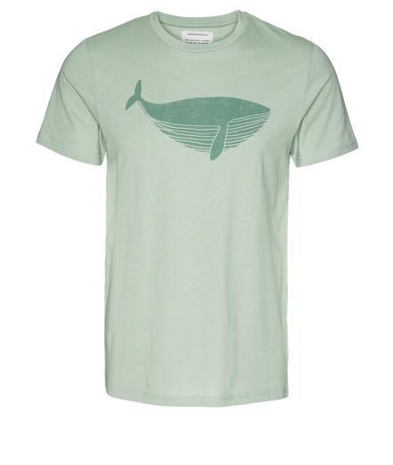 ARMEDANGELS James Big Whale pale green   L