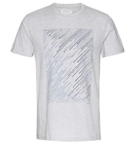 ARMEDANGELS James Geo Lines Grey Melange | XL