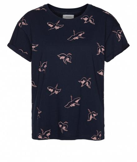 ARMEDANGELS Nalin Cranes In The Sky Dark Navy | S