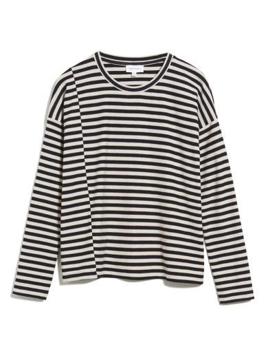 ARMEDANGELS Palinaa Knitted Stripe Kitt Black
