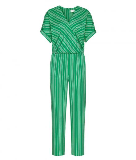 ARMEDANGELS Aarabella Pair of Stripes garden green | S