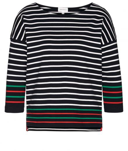 ARMEDANGELS Filinaa Contrast Stripes black | S