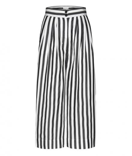 ARMEDANGELS Jonnaa Big Stripes black | S