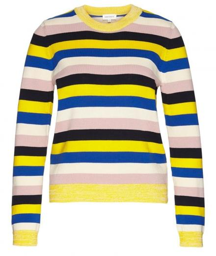 ARMEDANGELS Oxanaa Multi Stripes signal blue | S