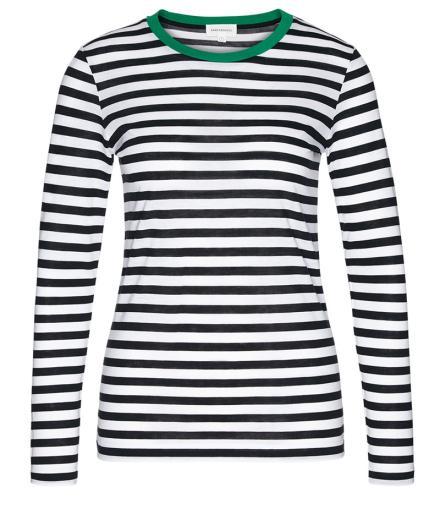 ARMEDANGELS Lara Bold Stripes green_black_white   S