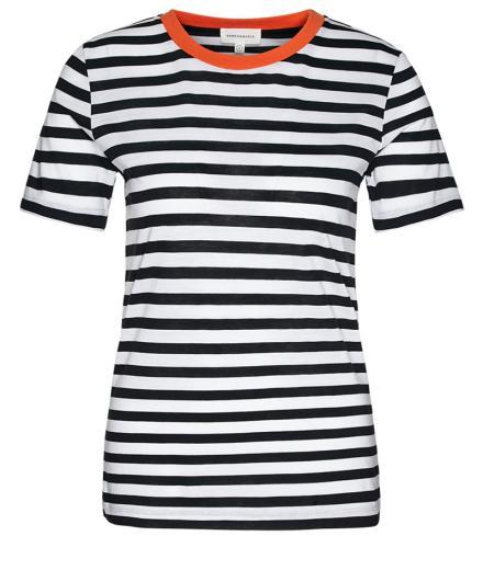 ARMEDANGELS Lidaa Bold Stripes black-white | S