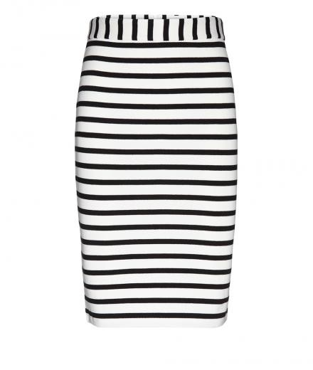 ARMEDANGELS Agata Stripes off white-black | L