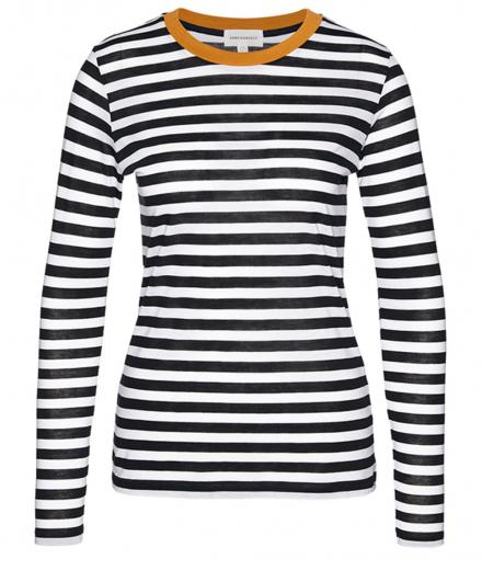 ARMEDANGELS Lara Bold Stripes black white | M