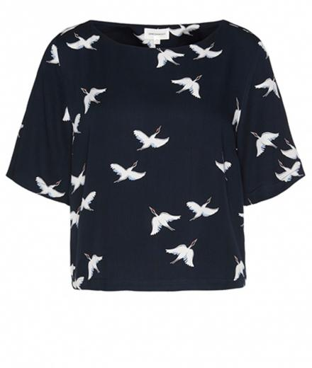 ARMEDANGELS Leela Cranes In The Sky Dark Navy | M