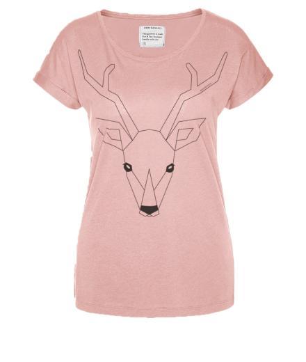 ARMEDANGELS Liv Oh Deer! M | dusty pink