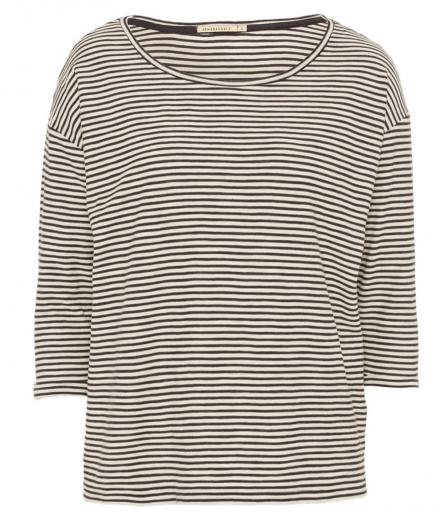 ARMEDANGELS Johanna Small Stripes off white navy | L