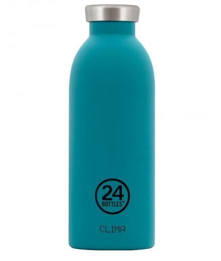 24Bottles Clima Thermosflasche Stahl 0,5l atlantic