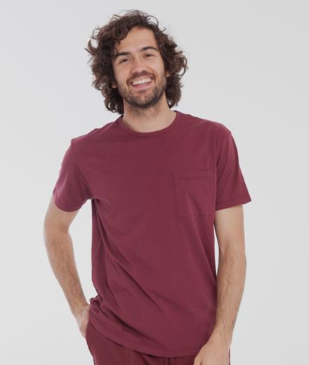 Thinking MU Pocket T-Shirt Chocolate Truffle | M