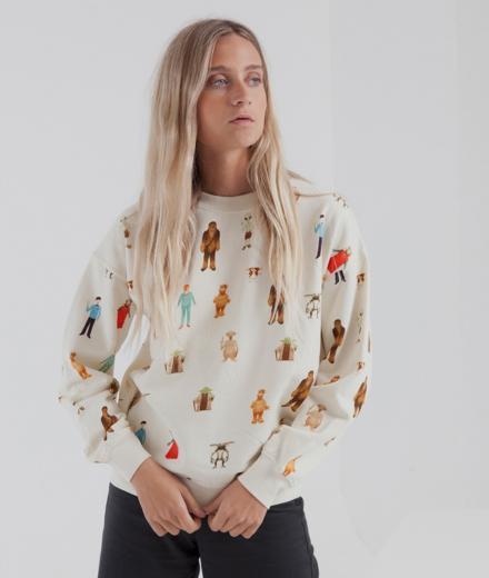 Thinking MU Space Mitos Sweatshirt jalon