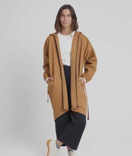 Thinking MU Wizzard Parka brown sugar S