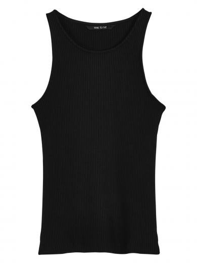 NINE TO FIVE Tank Top #ammer Black