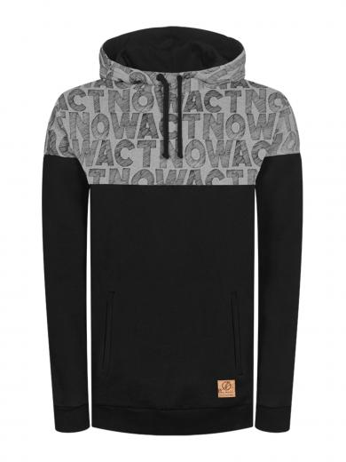 Bleed Clothing Lateralligator Kapuzenpullover Schwarz