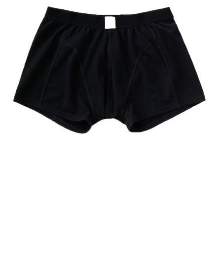 Nudie Jeans Boxer Briefs Solid black | S