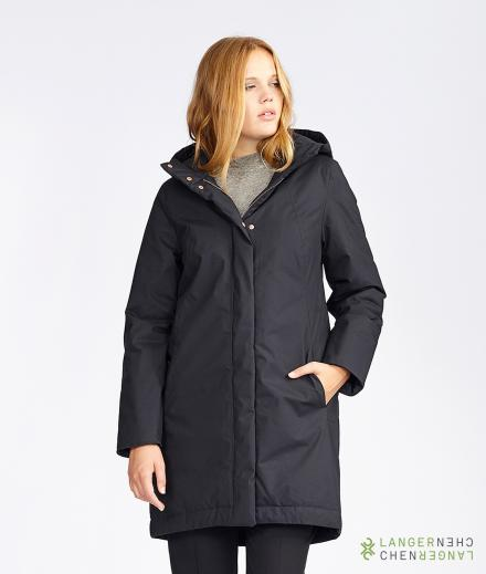 LangerChen Coat Ariza midnight
