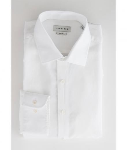 CARPASUS Hemd Classic Porto weiß